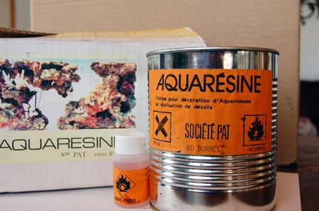 Résine en pot spéciale pour polyuréthane