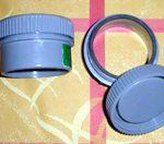 Bioréacteur aquarium : pièces PVC